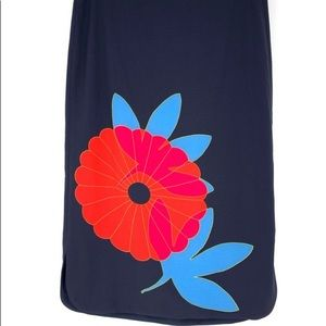 Loft straight skirt with floral graphic